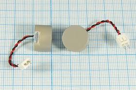Фото 1/2 Ультразвуковой герметичный, комбинированный приёмник/передатчик 40кГц,14x9мм, несимметричная диаграмма 120/60град, TR40-14C279-L5-30