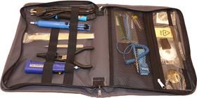 Фото 1/2 PL9102, Набор инструментов для паяльных работ (12 предметов)