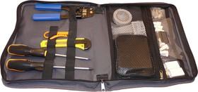 Фото 1/2 PL9100, Набор инструментов для обслуживания Lan сетей (11 предметов) Эконом