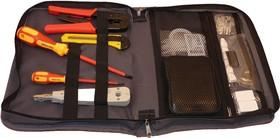 Фото 1/2 PL9101, Набор инструментов для обслуживания Lan сетей (12 предметов) Премиум