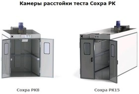 Сохра РК8, Камера расстойки теста