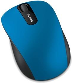 Мышь MICROSOFT Mobile 3600 оптическая беспроводная голубой и черный [pn7-00024]