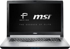 """Ноутбук MSI PE70 6QE-061RU, 17.3"""", Intel Core i7 6700HQ, 2.6ГГц, 8Гб, 1000Гб, 128Гб SSD, nVidia GeForce GTX 960M - (9S7-179542-061)"""