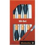 SD Set S2.5-5.5/PH1/2, Набор отверток, 6шт