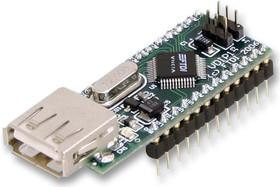 Фото 1/2 VDIP1, Дочерняя плата, VNC1L USB Host контроллер, взаимодействие микроконтроллеров с USB Host / Slave