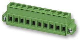 MSTB 2,5/8-STF-5.08, Съемная клеммная колодка, 5.08 мм, 8 вывод(-ов), 24AWG до 12AWG, 2.5 мм², Винт, 12 А