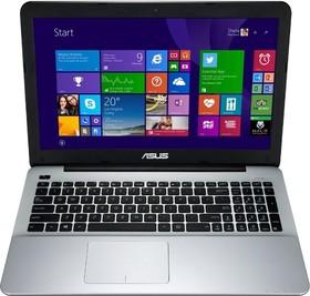 """Ноутбук ASUS X555LN-X0184D, 15.6"""", Intel Core i5 4210U, 1.7ГГц, 4Гб, 500Гб, nVidia GeForce 840M - 2048 Мб, DVD-RW (90NB0642-M02990)"""