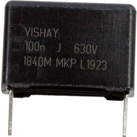 MKP1840410634M, MKP 0,10 F 5% 630Vdc Pitch 15 mm