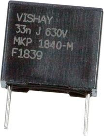 MKP1840333634M, MKP 0,033 F 5% 630Vdc Pitch 10 mm