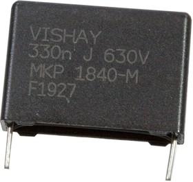 MKP1840433634M, MKP 0,33 F 5% 630Vdc Pitch 22,5 mm