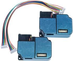 ZH03B, PM2.5 NDIR датч конц-и пыли/дыма до 1000мкг/м3 UART PWM