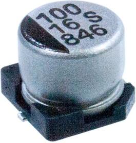 CB016M0100RSD-0605, SMD эл-лит 16V 100uF /6.3*5.4/105