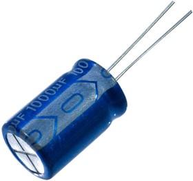 JRB1V102M0500130020, 1000мкФ 35В 105C 13x20 конденсатор электролитический (К50-35)