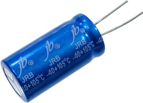 JRB1C103M0750180035, 10000мкФ 16В 105C 18x35 конденсатор электролитический (К50-35)