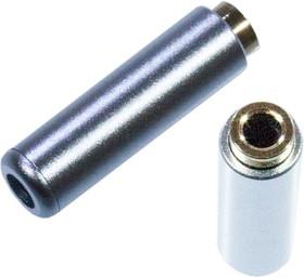 "1-087-4G, Разъем аудио 3.5мм ""гн"" 4C mini металл""позол."" на кабель"