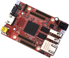Фото 1/3 A20-OLinuXIno-LIME2-n8G, Одноплатный компьютер на базе процессора Allwinner A20 Dual Core Cortex-A7 1GB RAM and Gigabit Ether
