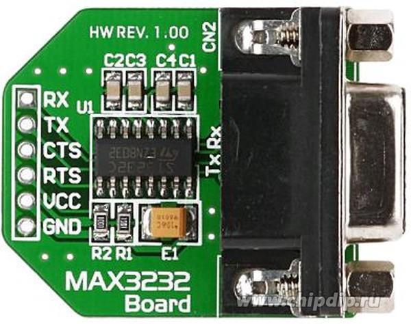 ME-MAX3232 BOARD, Периферийный