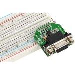 Фото 2/2 MIKROE-602, MAX3232 Board, Периферийный модуль для подключения через RS232-интерфейс