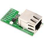 MIKROE-224, Ethernet Connector Board, Дочерняя плата с ...