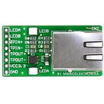 Фото 2/5 MIKROE-224, Ethernet Connector Board, Дочерняя плата с Ethernet-интерфейсом