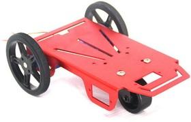 Фото 1/3 ROBOT-2WD-KIT, Металлическое шасси для построения мобильных роботов
