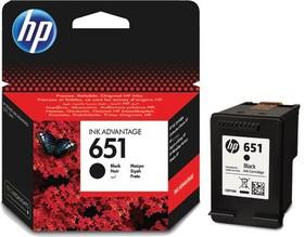 Картридж HP 651 C2P10AE, черный
