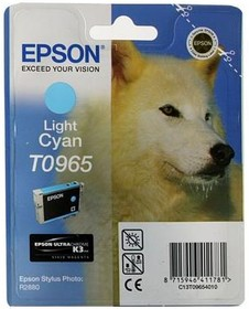Картридж EPSON T0965 светло-голубой [c13t09654010]