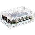 Фото 2/5 Acrylic Case for Raspberry Pi Model B+ / Pi 2 [CLEAR], Корпус для одноплатного компьютера Raspberry Pi Model B+ / Pi 2