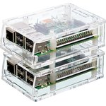 Фото 5/5 Acrylic Case for Raspberry Pi Model B+ / Pi 2 [CLEAR], Корпус для одноплатного компьютера Raspberry Pi Model B+ / Pi 2