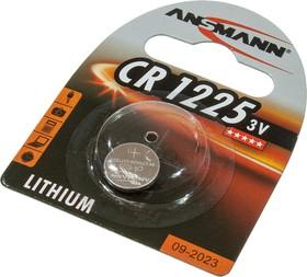 CR1225, 3В, BL1, дисковый, литий, ANSMANN,1шт.