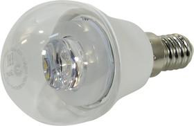 Лампа светодиодная ЭРА P45-7w-840-E14-Clear 7Вт E14 600лм