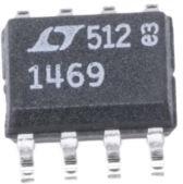 LT1469CS8#PBF, ОУ, двойной, 90 МГц, 2 Усилителя, 22 В/мкс, ± 4.5В до ± 15В [SO-8]