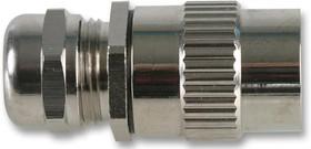 Фото 1/2 UT010JCSL, Зажим круглого разъема, длинный с гайкой компенсатора натяжения, IP68 и IP69K, 10, 8 мм