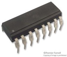 ACPL-847-W00E, Оптопара, с транзистором на выходе, 4 канала, DIP, 16 вывод(-ов), 50 мА, 5 кВ, 50 %