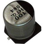 EEETG2A220P, SMD электролитический конденсатор, Radial Can - SMD, 22 мкФ, 100 В ...