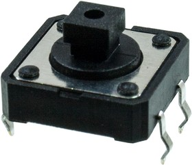 L-KLS7-TS1204-7.3-180, кнопка тактовая 12х12 h=7.3мм (1273HIM-160G-G)