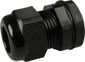 AG-20SB, кабельный ввод полиамидный черный