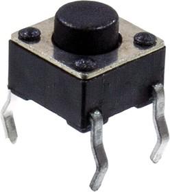 KLS7-TS6601-5.0-180 кнопка такт. h=5.0мм (аналог 0650HIM,TS-A2PS)
