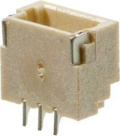 A1001-STM-03AW, SM03B-SRSS-TB(LF)(SN), SH вилка на плату угл. SMD шаг 1мм 3конт.