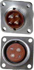 2PM22-4ZKQB2 (2РМТ22Б4Г3В1В), Розетка на корпус