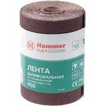 Лента шлиф. Hammer Flex 216-001 115х5м P60 ткан. основа, рулон