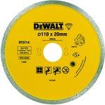 Диск алм. DeWALT DT3714-QZ DEWALT® для плиткореза DWC410 ...