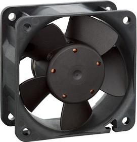 612NGH, Осевой Вентилятор, серия 600NG, 12 В, DC (Постоянный Ток), 60 мм, 25 мм, 27.1 фут³/мин, 0.76 м³/мин
