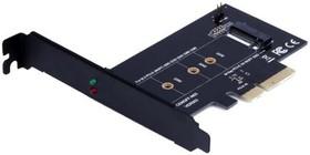 Фото 1/3 Адаптер PCI-E M.2 NGFF for SSD Bulk