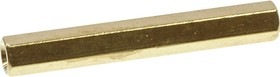 Фото 1/2 PCHSS-35, Стойка для п/плат,шестигр., латунь, М3, 35 мм