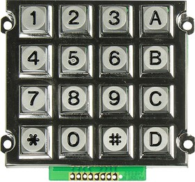 AK-1607-N-SSB-WP-MM, клавиатура