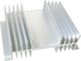 АВМ-131-100, радиатор ребристый двухстор. 144х50 длина 100мм (HS-135)
