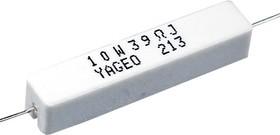 SQP 10 Вт 39 Ом, 5%, Резистор проволочный мощный (цементный)