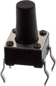 KLS7-TS6601-9.5-180 кнопка тактовая 6х6 h=9.5мм (0695HIM,TS-A4PS)