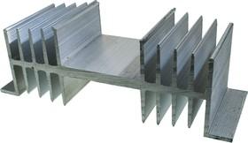 ABM-131, радиатор ребристый 144х50мм длина 50 мм